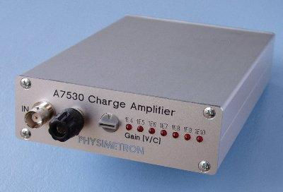 Static Charge Amplifier