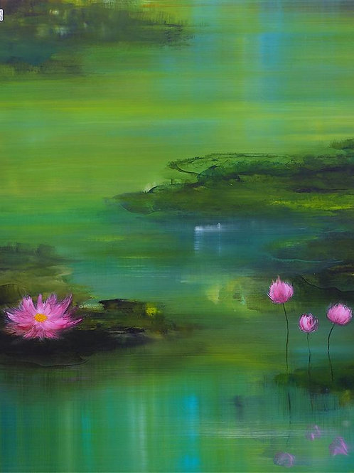 "Sanna Myrttinen ""The Lotus Series Nr. II"""