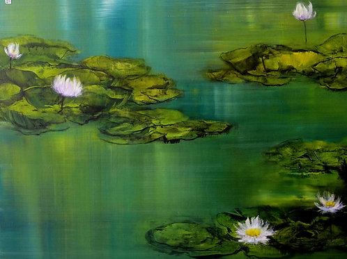 "Kopie von Sanna Myrttinen ""The Lotus Series Nr. I"""
