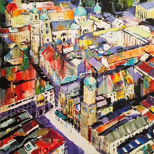"Tadeusz Stupka ""Innsbruck Altstadt"""