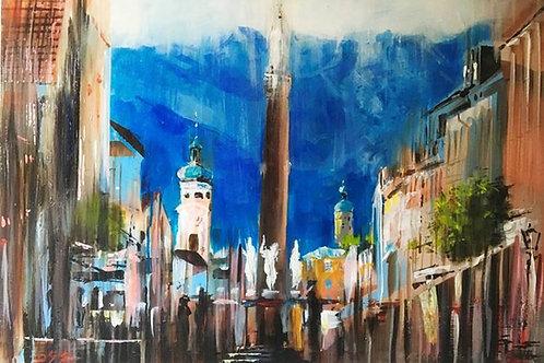 "Tadeusz Stupka ""Innsbruck View"""
