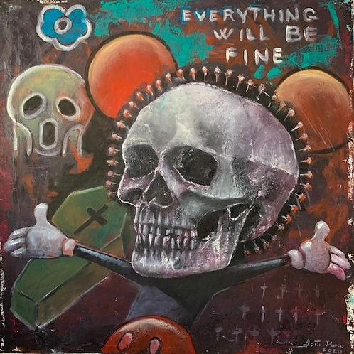 """Marco Nasti """"everything Will be fine"""""""
