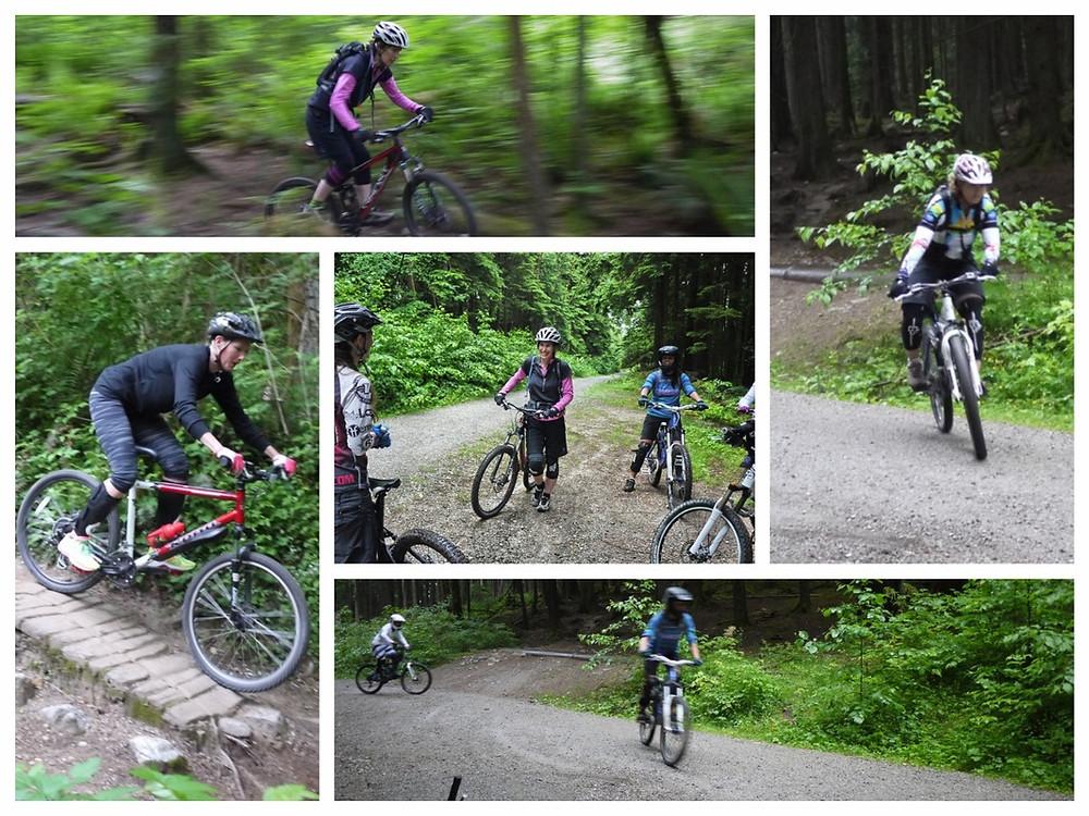 Muddbunnies riding club mountain bike clinics with ozmosis training
