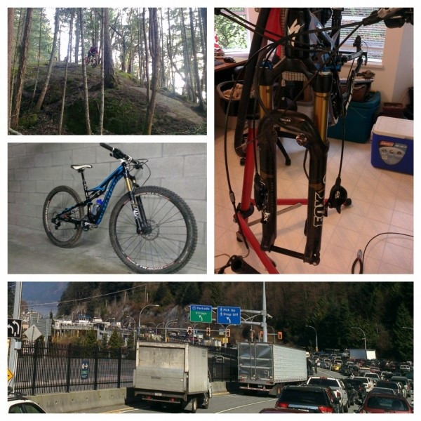 Nanaimo BC the abyss mountain bike. Specialized Bicycle