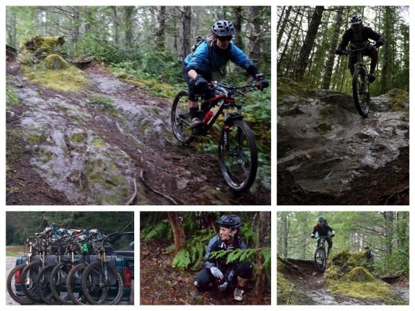 Cumberland Forbidden BC mountain bike tour