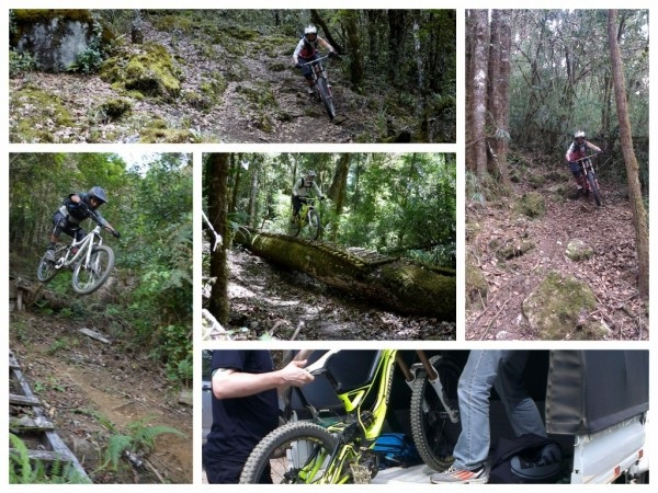 Costa Rica mountain bike guided tour.