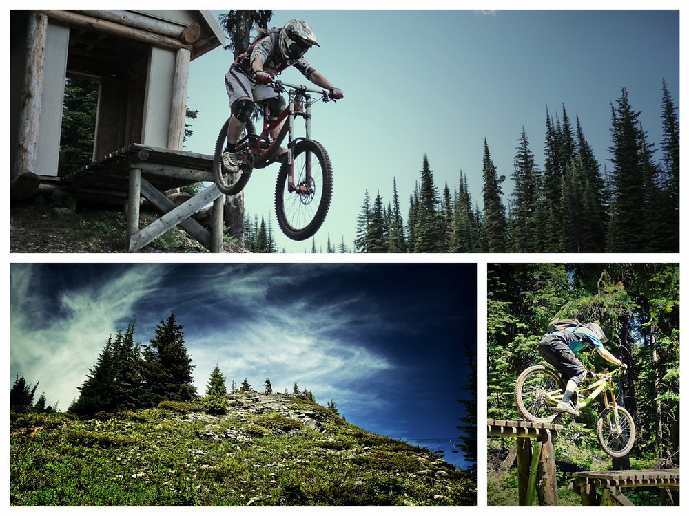 Silverstar bike park. downhill. mountain bike. road trip