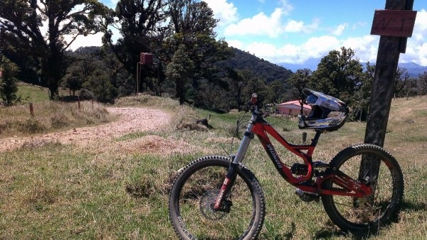 Costa Rica mountain bike guided tour. Specialized