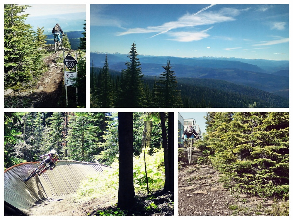 Silver Star Bike Park. endless biking trails. downhill. roadtrip