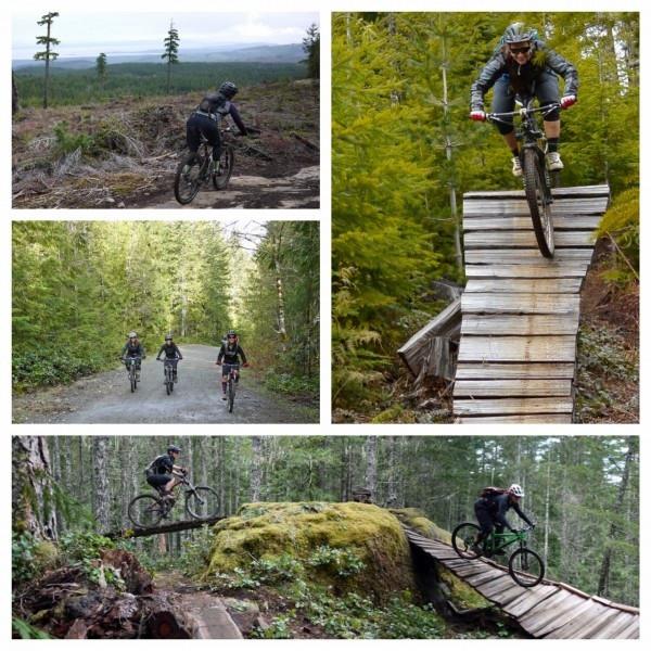 Cumberland BC mountain bike tour