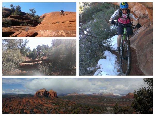 mountain bike adventure Sedona Arizona
