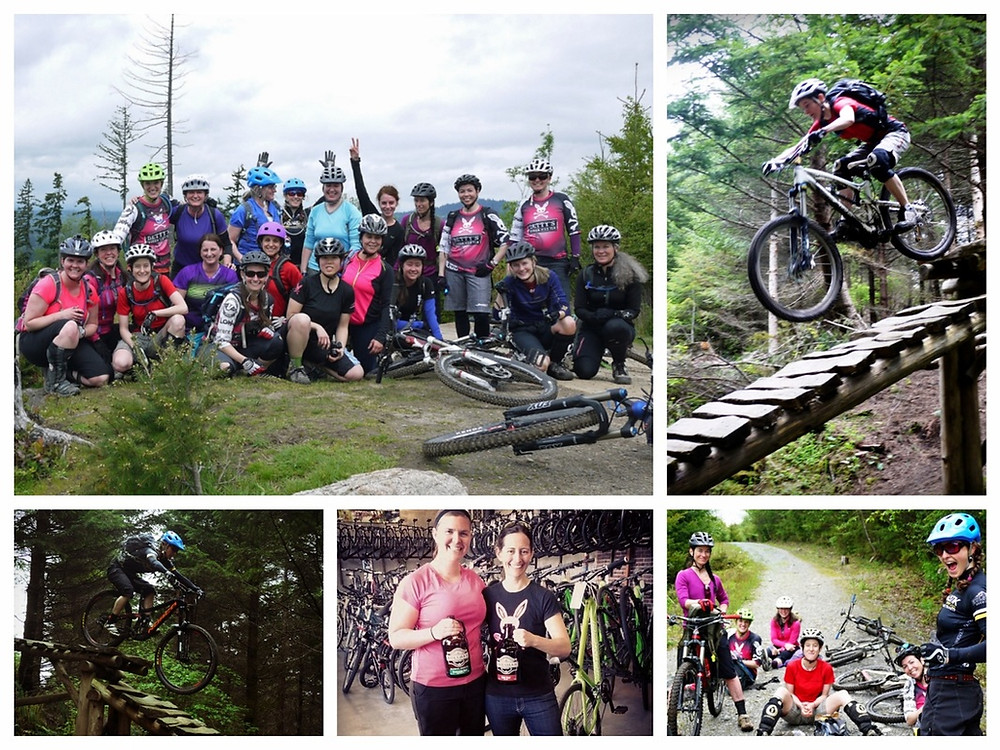 Galbraith Muddbunnies riding club group mountain bike ride
