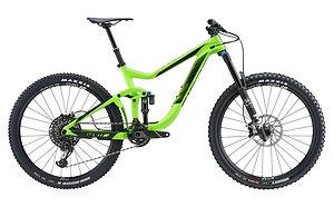 Giant Reign Advanced 1 rental bike.