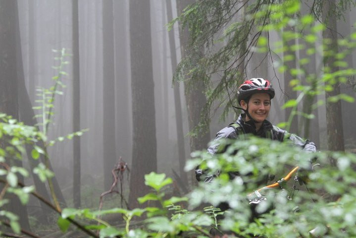 mountain biker north vancouver mt fromme