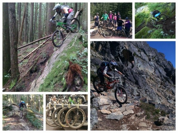 Mountain biking Dale's Trail & Empress Mt Seymour. Endless Biking whistler Top of the World and It's Business Time