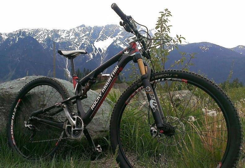 Rocky Mountain Element 29er in Pemberton BC