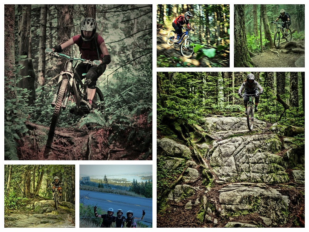 Mountain bike cypress. muddbunnies riding club. group ride