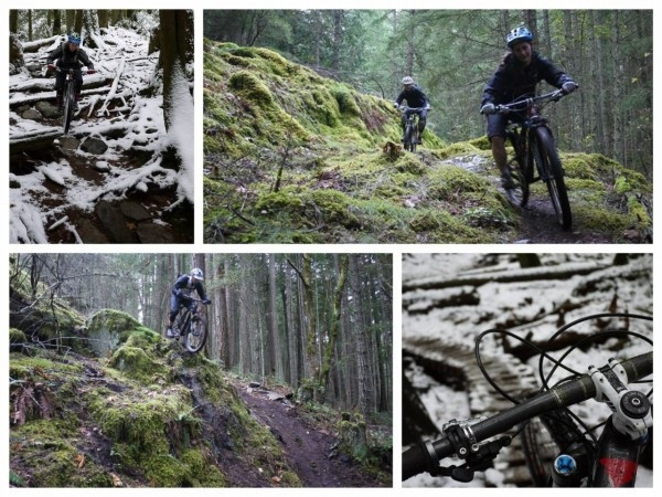 North Vancouver and Cumberland mountain biking
