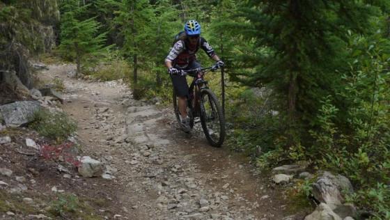 coach jaclyn climbing mountain bike whistler.
