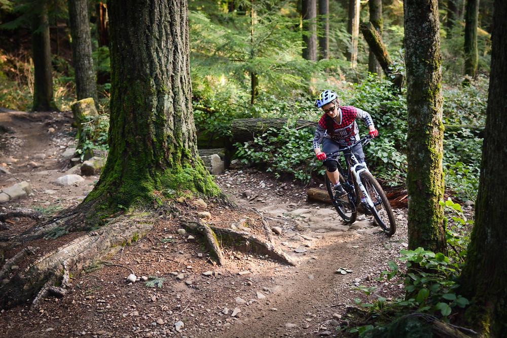 North Shore bridle path mountain bike trail nsmba
