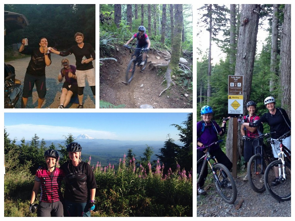 Seattle Muddbunnies group ride Tiger mountain biking trails
