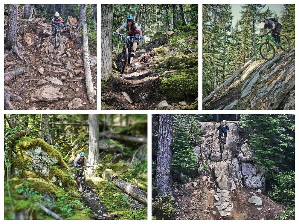 Whistler bike park & whistler valley trail mountain biking endless trails