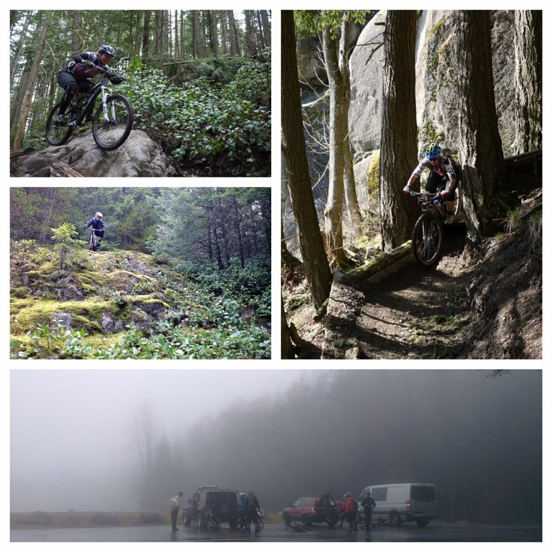Mountain bike riding at Mt Seymour (NSMBA), Fraser Valley (FVMBA) and Cypress Mountain