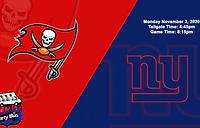 Buccaneers vs Giants