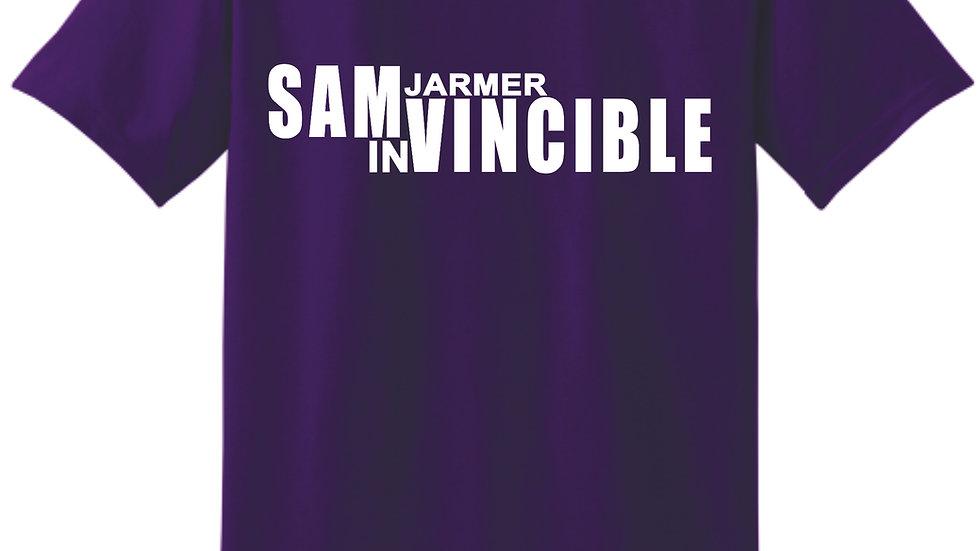 #SAMvincible - Gildan™ Adult Heavyweight Cotton T-shirt - Sam Jarmer InVincible