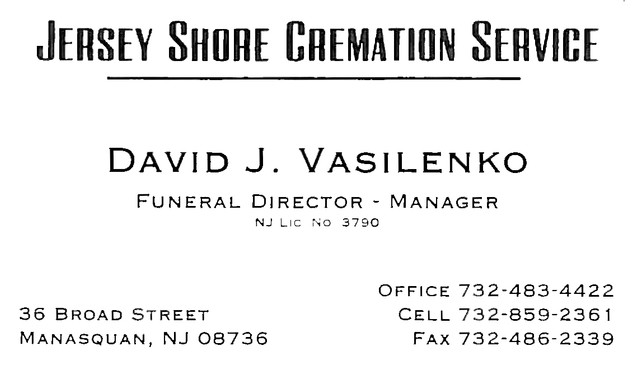 Jersey Shore Cremation