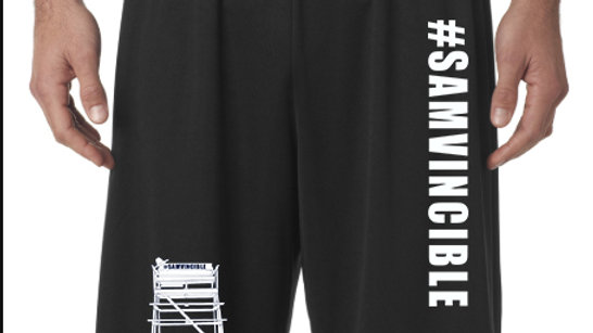 #SAMvincible - A4™  Adult - Nine Inch Inseam Performance Short