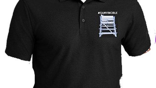 #SAMvincible Embroidered Men's GOLF All-Purpose Performance Polo
