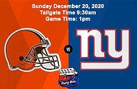 Browns vs Giants