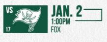 Buccaneers vs Jets