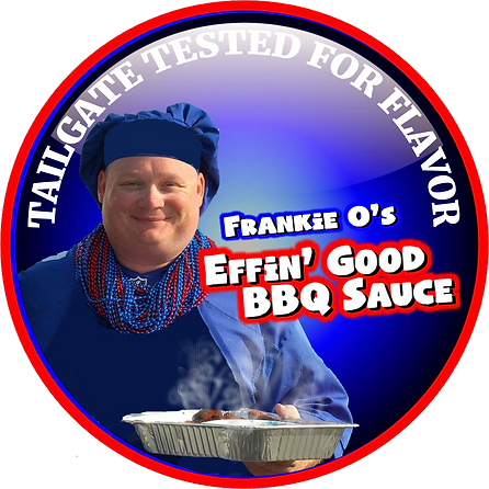 "Frankie O's Effin"" Good Barbcue Sauce"