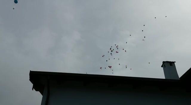 Video lancio palloncini