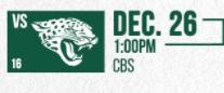 Jaguars vs Jets