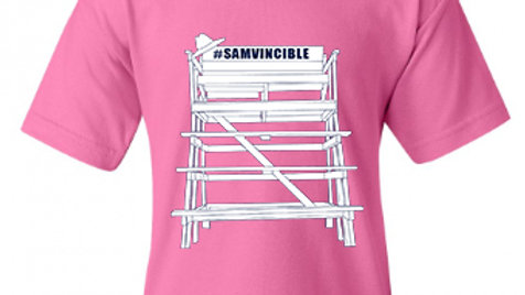 #SAMvincible Gildan™ Youth Heavyweight Cotton T-shirt
