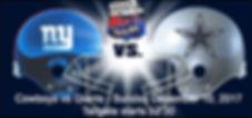 Fanvan Party Bus Cowboys vs Giants