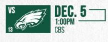 Eagles vs Jets