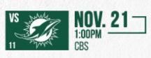Dolphins vs Jets