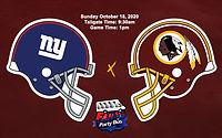 Redskins vs Giants