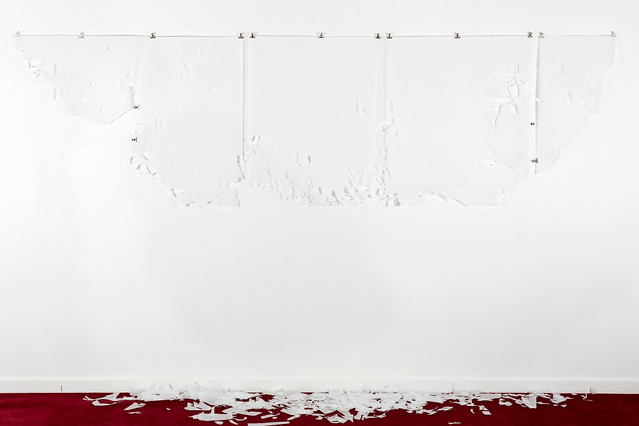 Flat White Space 2014 Installation Shot.