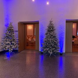 oberes Foyer mit den beiden Saaleingängen