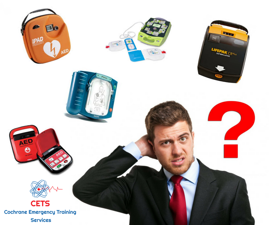 AED, First Aid, Cochrane, Airdrie, NW Calgary