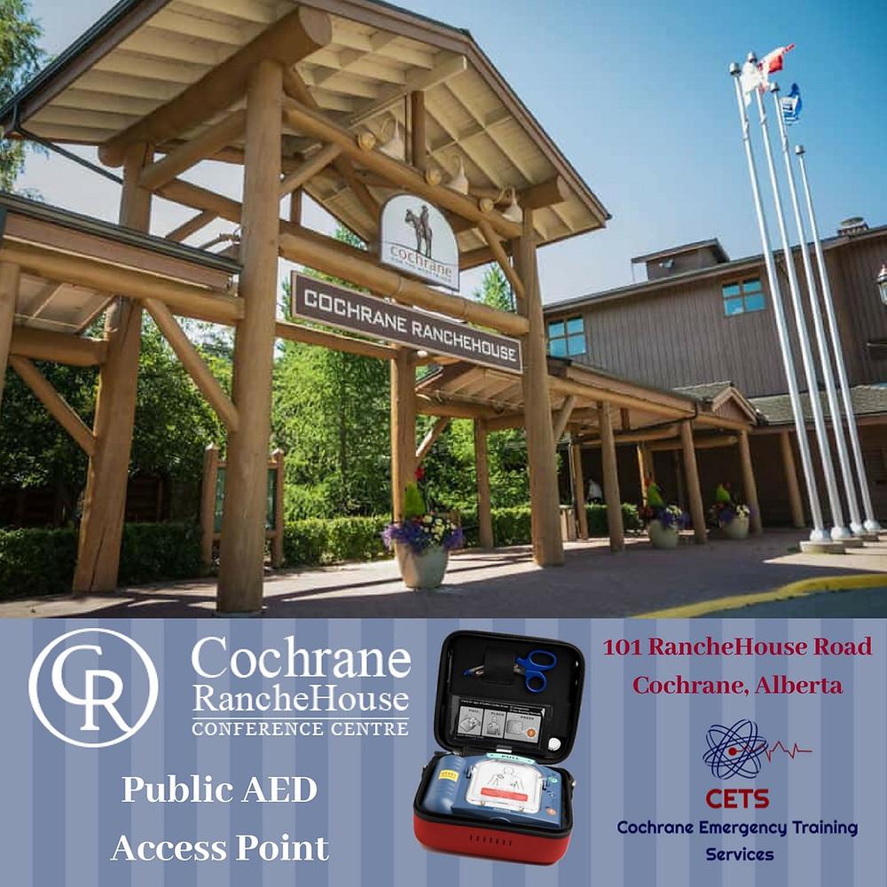 Cochrane AED, Cochrane CPR, CPR training, AED training