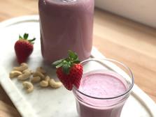 Healthy Strawberry Milk