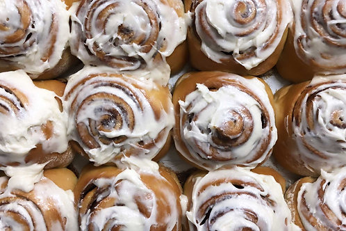 Cinnamon Buns Frozen/Ready to Bake
