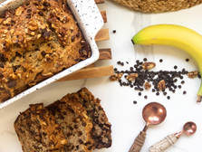 Banana Bread 2 Ways