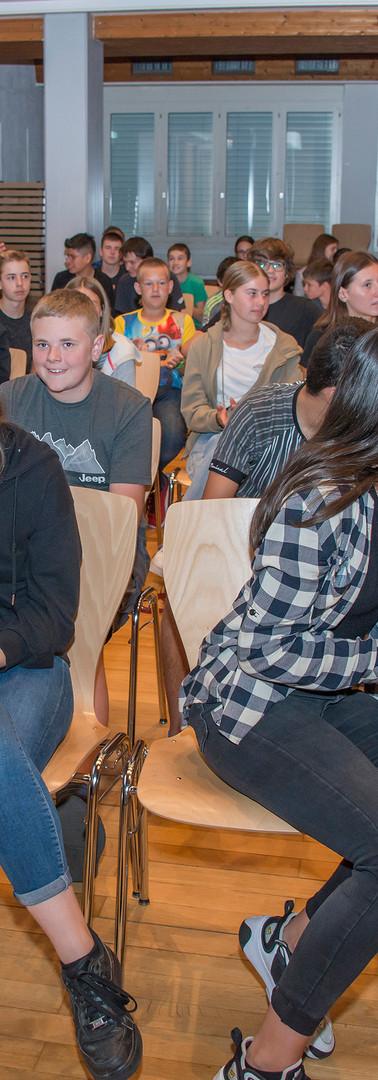 Schülerinnen beim Wprkshop 2020